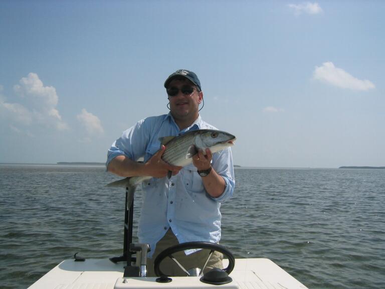 Bonefish fishing guide in islamorada florida keys for Islamorada fishing guides